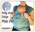 Moss Owl Moby Wrap Designs