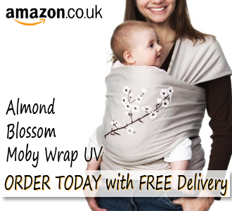 Almond Blossom Moby Wrap