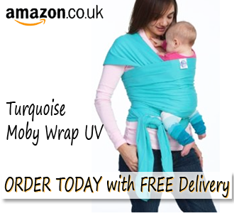 Turquoise Moby Wrap