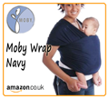 Navy Moby Wrap