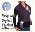 Organic Eggplant Moby Wrap